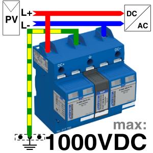 P-HYS 1005 R PV Anschluss