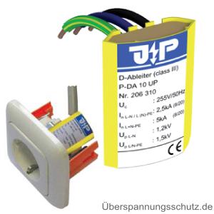 P-DA 10 UP Feinschutz für Steckdoseneinbau