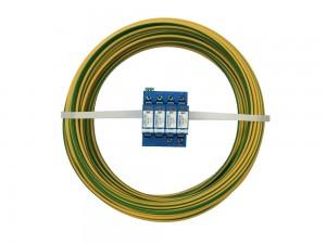 10mm² Gelb/Grün Aderleitung flexibel H07V-K