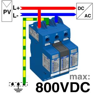 P-HYS 805 R PV Anschluss