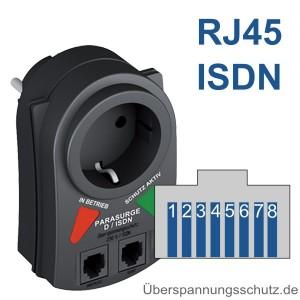 P-DA 1 ISDN RJ45 Buchse