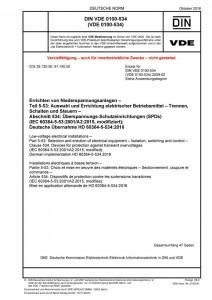 DIN VDE 0100-534 kaufen Print