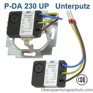 Unterputz Überspannungsschutz P-DA 230UP