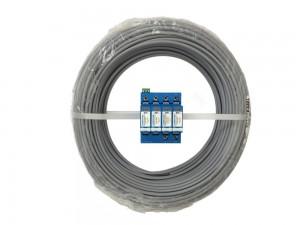 10mm² Grau Aderleitung flexibel H07V-K